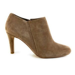 Vince Camuto Suede Corra Ankle Booties in Tan